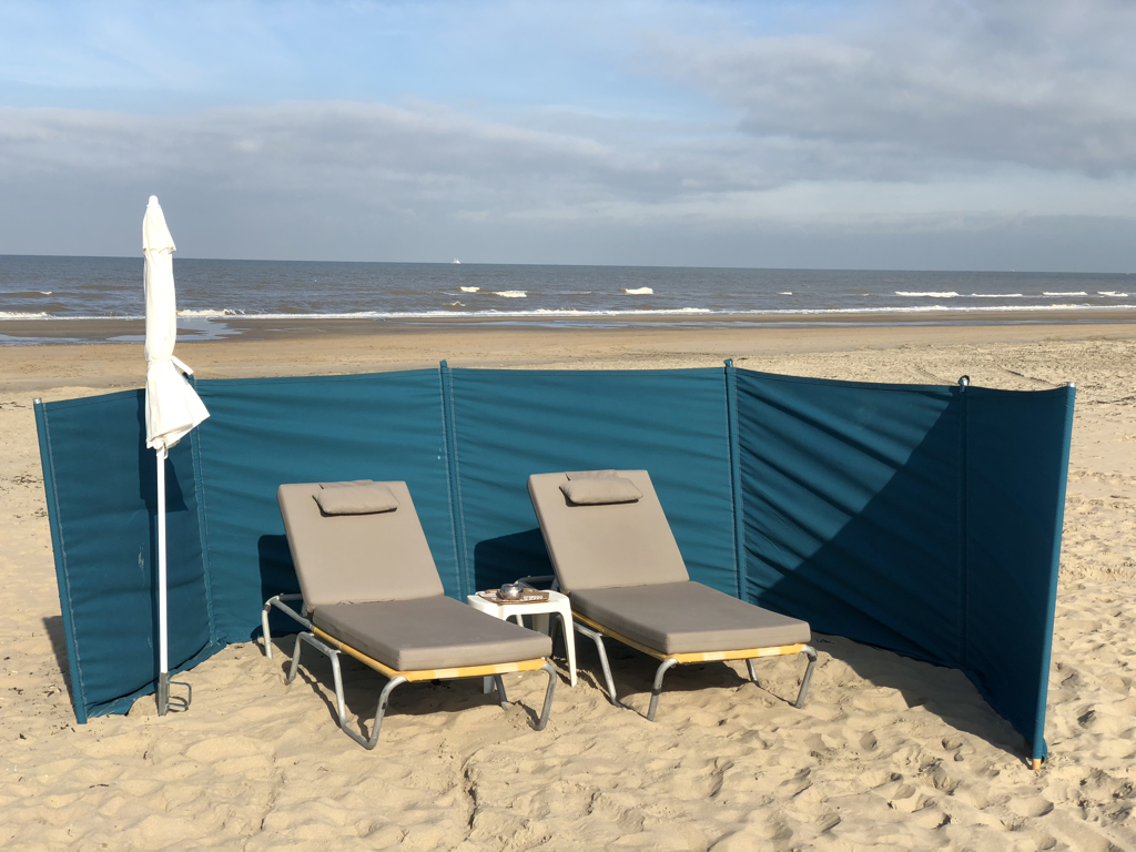 Strandligstoelen Noordwijk