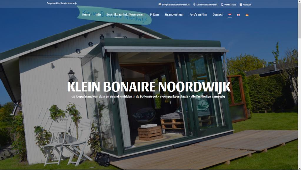Bungalow Klein Bonaire Noordwijk